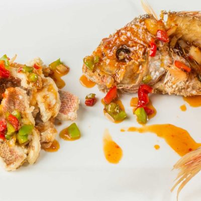 J Wong's Sweet Thai Chili Red Snapper